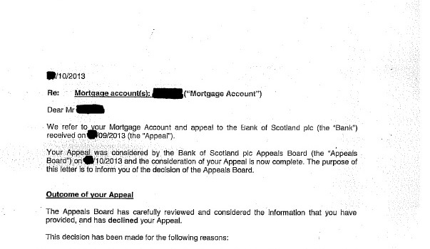 2013-11 Bank of Scotland - pay us not the RIP