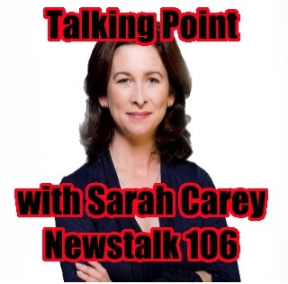 Talking point with Sarah Carey