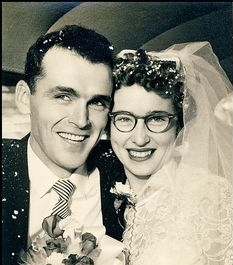 1950's married couple