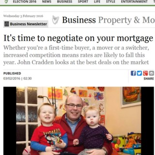 2016 Indo 3rd Feb story featuring Irish Mortgage Brokers
