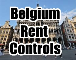 2016 belgium rent controls