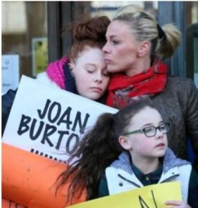 joan burton cut rent supplement